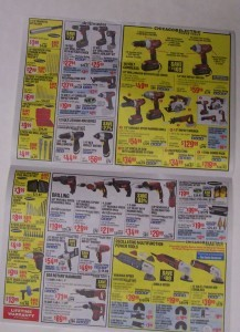 Harbor Freight Tools wish book 5-7-16